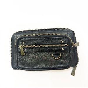 BCBG Black Leather Wallet